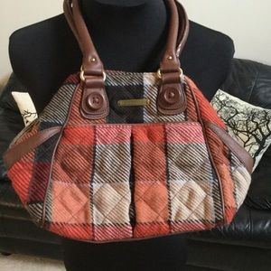 Vera Bradley Wool Purse LIKE NEW!